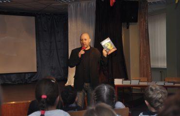 Встреча с детским писателем Валентином Юрьевичем Постниковым 14