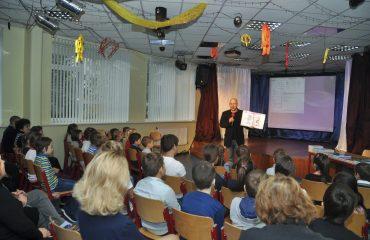 Встреча с детским писателем Валентином Юрьевичем Постниковым 1