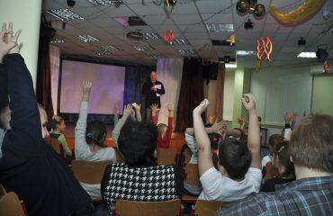 Встреча с детским писателем Валентином Юрьевичем Постниковым 4