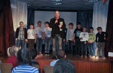 Встреча с детским писателем Валентином Юрьевичем Постниковым 7