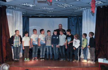 Встреча с детским писателем Валентином Юрьевичем Постниковым 8