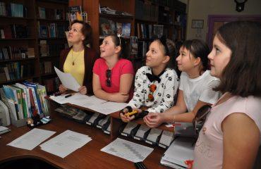 В школе «Премьер» состоялся квест, посвященный году российского кино. 11