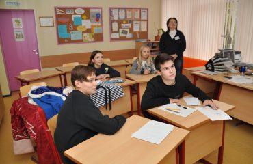 В школе «Премьер» состоялся квест, посвященный году российского кино. 15