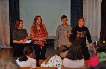 В школе «Премьер» состоялся квест, посвященный году российского кино. 17