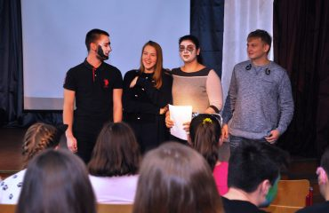 В школе «Премьер» состоялся квест, посвященный году российского кино. 18