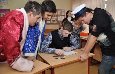 В школе «Премьер» состоялся квест, посвященный году российского кино. 1