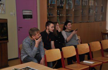 В школе «Премьер» состоялся квест, посвященный году российского кино.