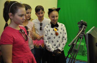 В школе «Премьер» состоялся квест, посвященный году российского кино. 7