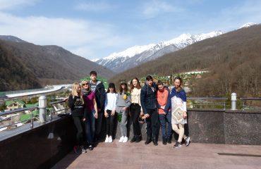 В марте для обучающихся 7-х и 8-х классов состоялась увлекательная поездка в Сочи.