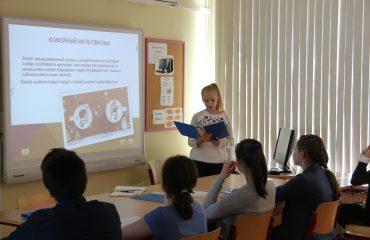 15 мая состоялся XIII ежегодный школьный конкурс учебных проектов учащихся 5-8-х классов. 2