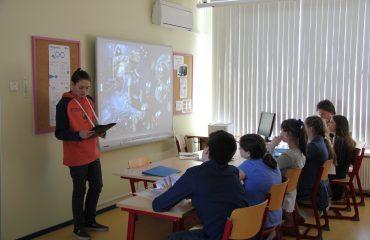 15 мая состоялся XIII ежегодный школьный конкурс учебных проектов учащихся 5-8-х классов. 3