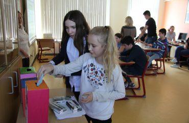 15 мая состоялся XIII ежегодный школьный конкурс учебных проектов учащихся 5-8-х классов. 7