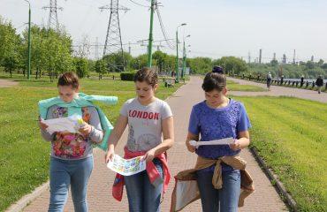 29 мая для обучающихся 5-7 классов был проведен интегрированный урок по географии и физической культуре в парке 850-летия Москвы 2