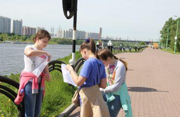 29 мая для обучающихся 5-7 классов был проведен интегрированный урок по географии и физической культуре в парке 850-летия Москвы