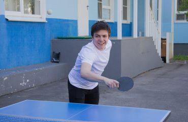 Завершились соревнования по настольному теннису. 4