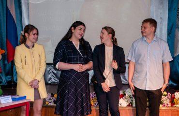 Церемония вручения аттестатов в 9 классе 1