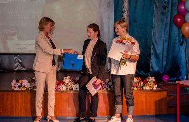Церемония вручения аттестатов в 9 классе 7