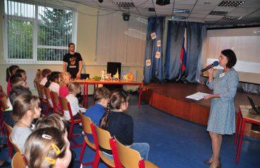 5 сентября состоялась презентация кружков и студий дополнительного образования. 1