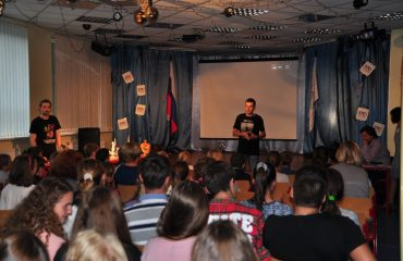 5 сентября состоялась презентация кружков и студий дополнительного образования. 2