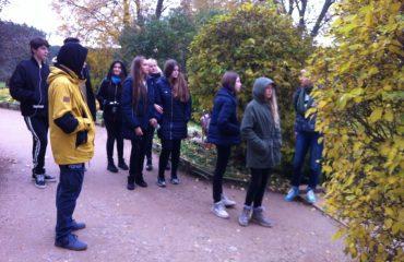 С 12 по 16 октября мы, учащиеся 8 и 9 классов, посетили замечательный город Псков. 1