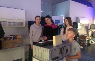 В октябре 2017 года обучающиеся 10 и 11 классов посетили Галерею Компьютерной Эволюции OLDI Computers. 1