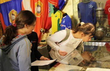 28 ноября обучающиеся 5-8 классов побывали на экскурсии в Государственном музее спорта в рамках олимпиады «Музеи. Парки. Усадьбы» 1