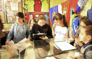 28 ноября обучающиеся 5-8 классов побывали на экскурсии в Государственном музее спорта в рамках олимпиады «Музеи. Парки. Усадьбы» 2
