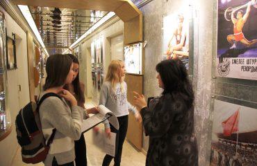 28 ноября обучающиеся 5-8 классов побывали на экскурсии в Государственном музее спорта в рамках олимпиады «Музеи. Парки. Усадьбы» 3