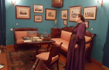 8 декабря обучающиеся 10-11-х классов посетили театрализованную экскурсию в доме - музее Н.В. Гоголя. 4