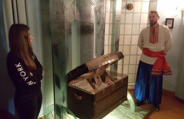 8 декабря обучающиеся 10-11-х классов посетили театрализованную экскурсию в доме - музее Н.В. Гоголя. 7