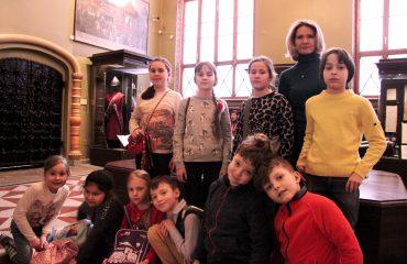 В январе обучающиеся 1-4 классов школы «Премьер» побывали на экскурсии в Государственном Историческом музее 2