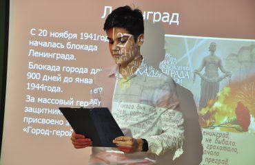 Встреча с ветеранами блокады Ленинграда 3