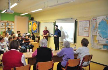 Встреча с ветеранами блокады Ленинграда 5