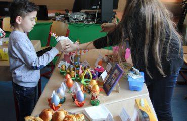 17 марта в школе «Премьер» прошла благотворительная пасхальная ярмарка 15
