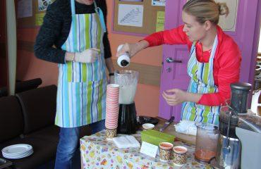 17 марта в школе «Премьер» прошла благотворительная пасхальная ярмарка 2