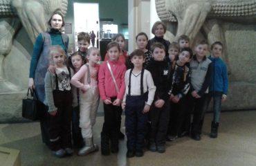 28 февраля, в последний день зимы, обучающиеся 2-го, 3-го и 4-го классов посетили ГМИИ им. А.С. Пушкина 5