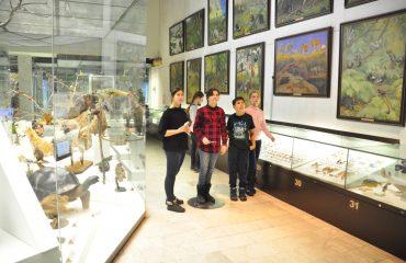 В феврале обучающиеся 5-6 классов посетили   с экскурсией Дарвиновский Музей 3