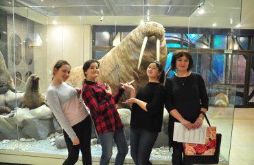 В феврале обучающиеся 5-6 классов посетили   с экскурсией Дарвиновский Музей 6