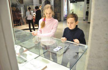 В феврале обучающиеся 5-6 классов посетили   с экскурсией Дарвиновский Музей 7