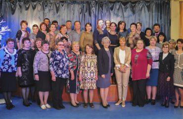 Доброй традицией  нашей школы стали  весенние встречи с коллегами-педагогами из Сасовского района Рязанской области 34