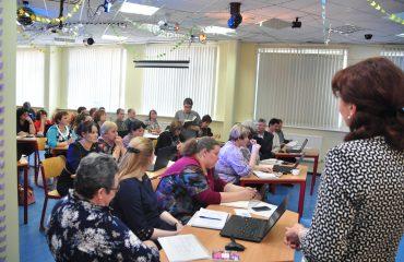 Доброй традицией  нашей школы стали  весенние встречи с коллегами-педагогами из Сасовского района Рязанской области 10