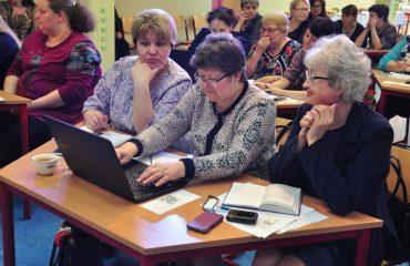 Доброй традицией  нашей школы стали  весенние встречи с коллегами-педагогами из Сасовского района Рязанской области 13
