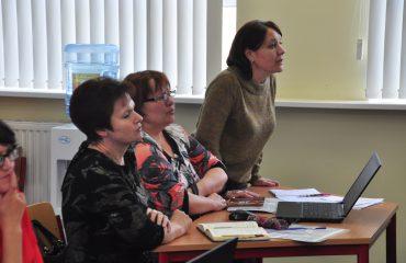 Доброй традицией  нашей школы стали  весенние встречи с коллегами-педагогами из Сасовского района Рязанской области 14