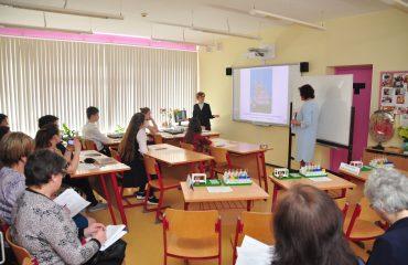 Доброй традицией  нашей школы стали  весенние встречи с коллегами-педагогами из Сасовского района Рязанской области 28