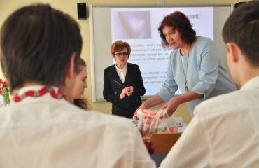 Доброй традицией  нашей школы стали  весенние встречи с коллегами-педагогами из Сасовского района Рязанской области 2