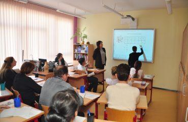 Доброй традицией  нашей школы стали  весенние встречи с коллегами-педагогами из Сасовского района Рязанской области 32