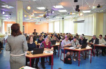 Доброй традицией  нашей школы стали  весенние встречи с коллегами-педагогами из Сасовского района Рязанской области 6
