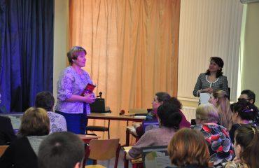 Доброй традицией  нашей школы стали  весенние встречи с коллегами-педагогами из Сасовского района Рязанской области 8