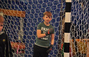 В товарищеском матче по мини-футболу впервые приняли участие юные премьеровцы. 10