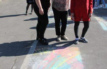 Традиционный   конкурс  рисунков на асфальте прошёл в школе «Премьер» 11 мая 28